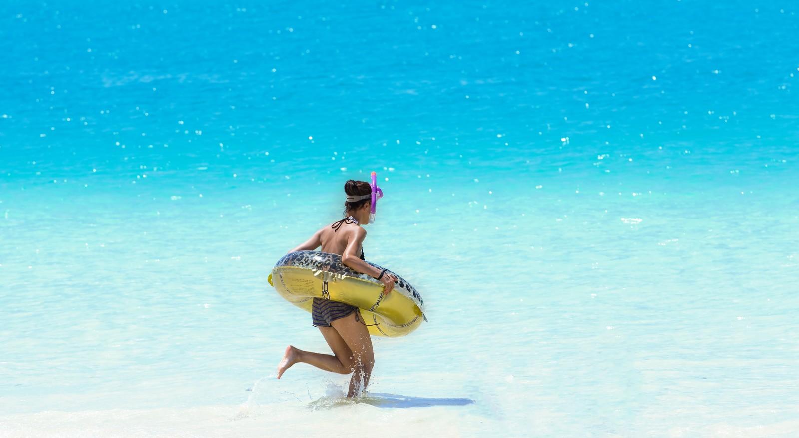 生理だけどどうしても海に行きたい!さあ、どうする?